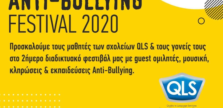1st Online QLS Anti-Bullying Festival